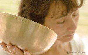 Klangschalen-Meditation beim Fasten
