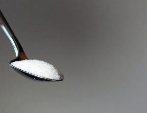 Löffel mit Süßstoff