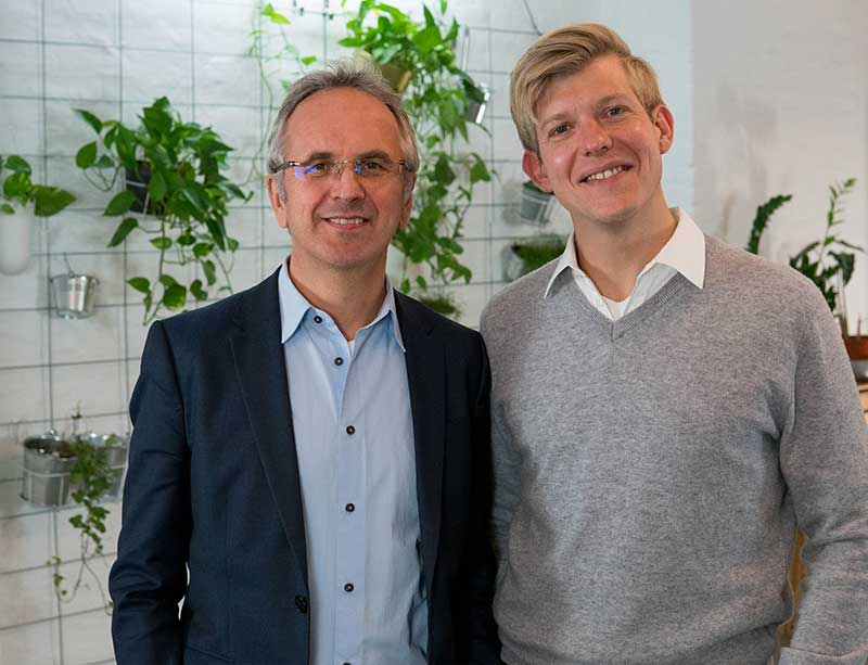 Nicolas Gros und Andreas Michaelsen